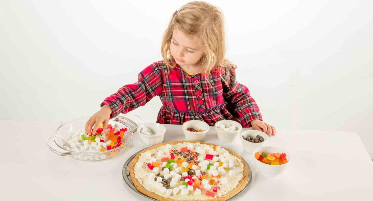 Indoor Activity For Kids – Dessert Pizza