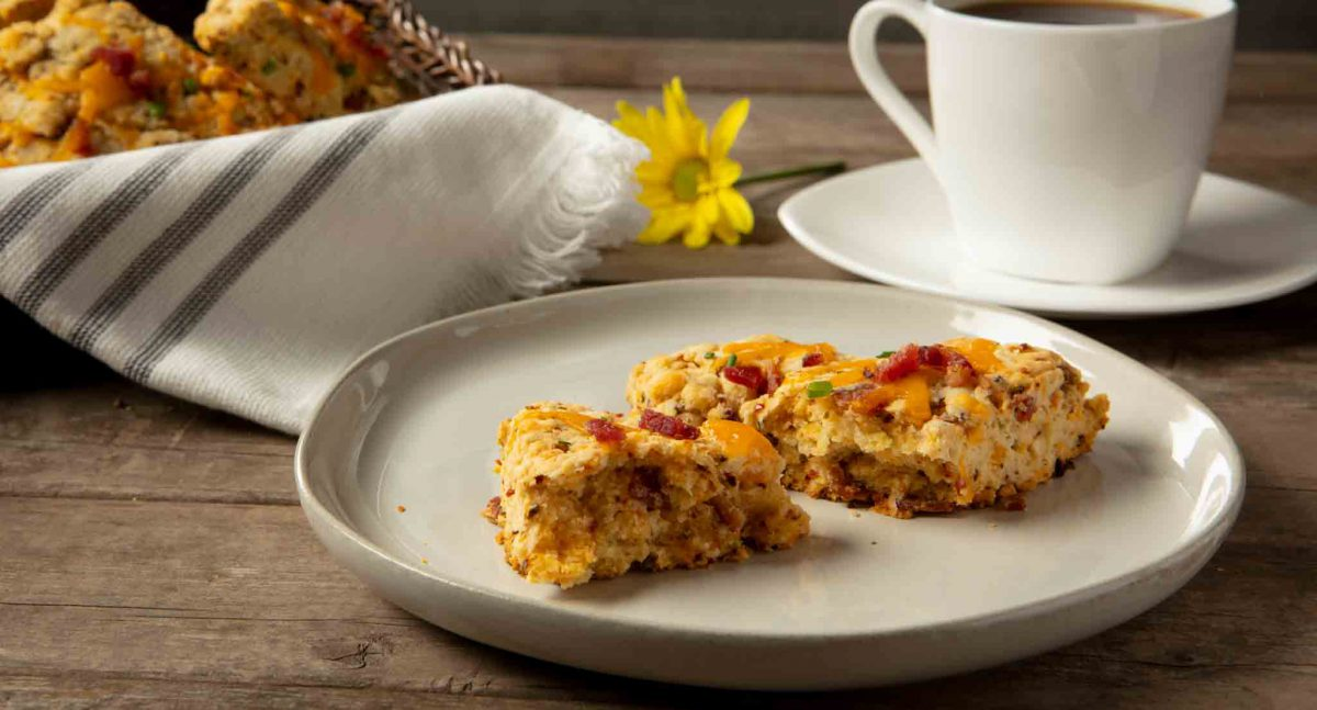 Best Cheesy Bacon Savory Scone Recipe