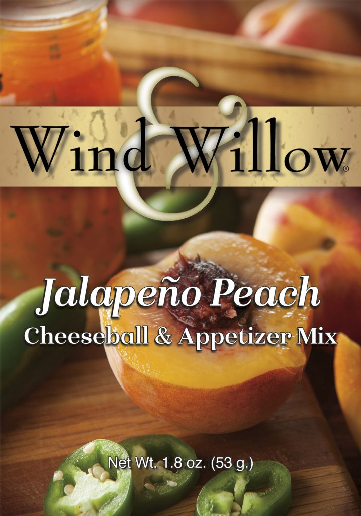 Jalapeno peach Cheeseball and Appetizer Mix by Wind & Willow