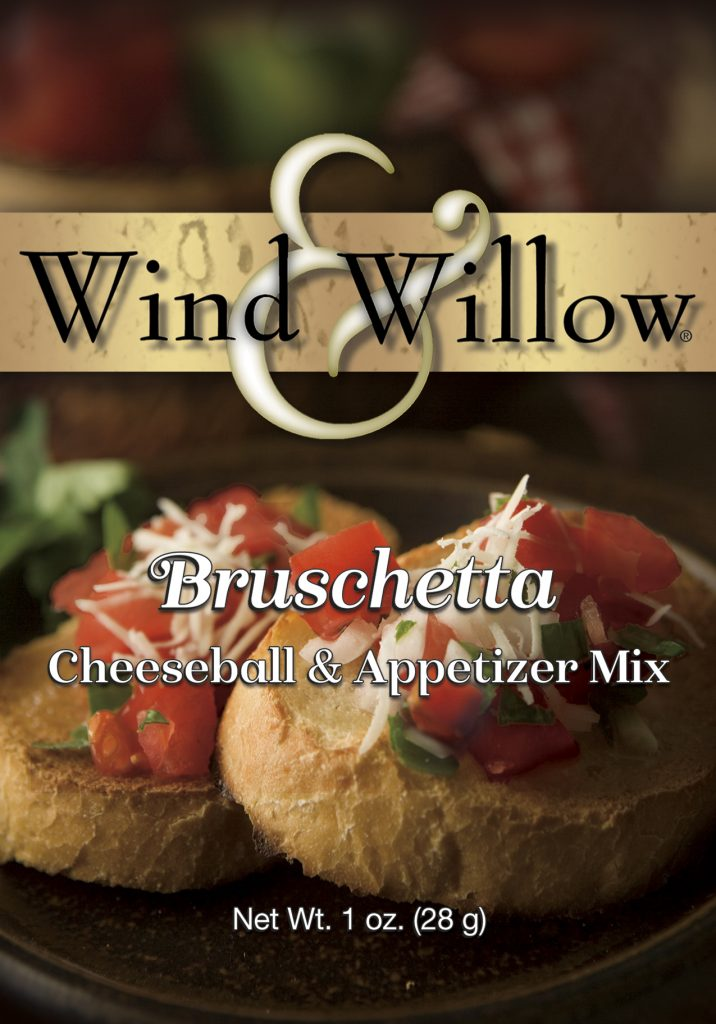 Bruschetta Cheeseball and Appetizer Mix by Wind & Willow