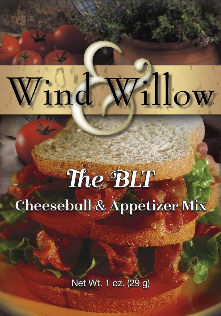 The BLT Cheeseball and Appetizer Mix by Wind & Willow