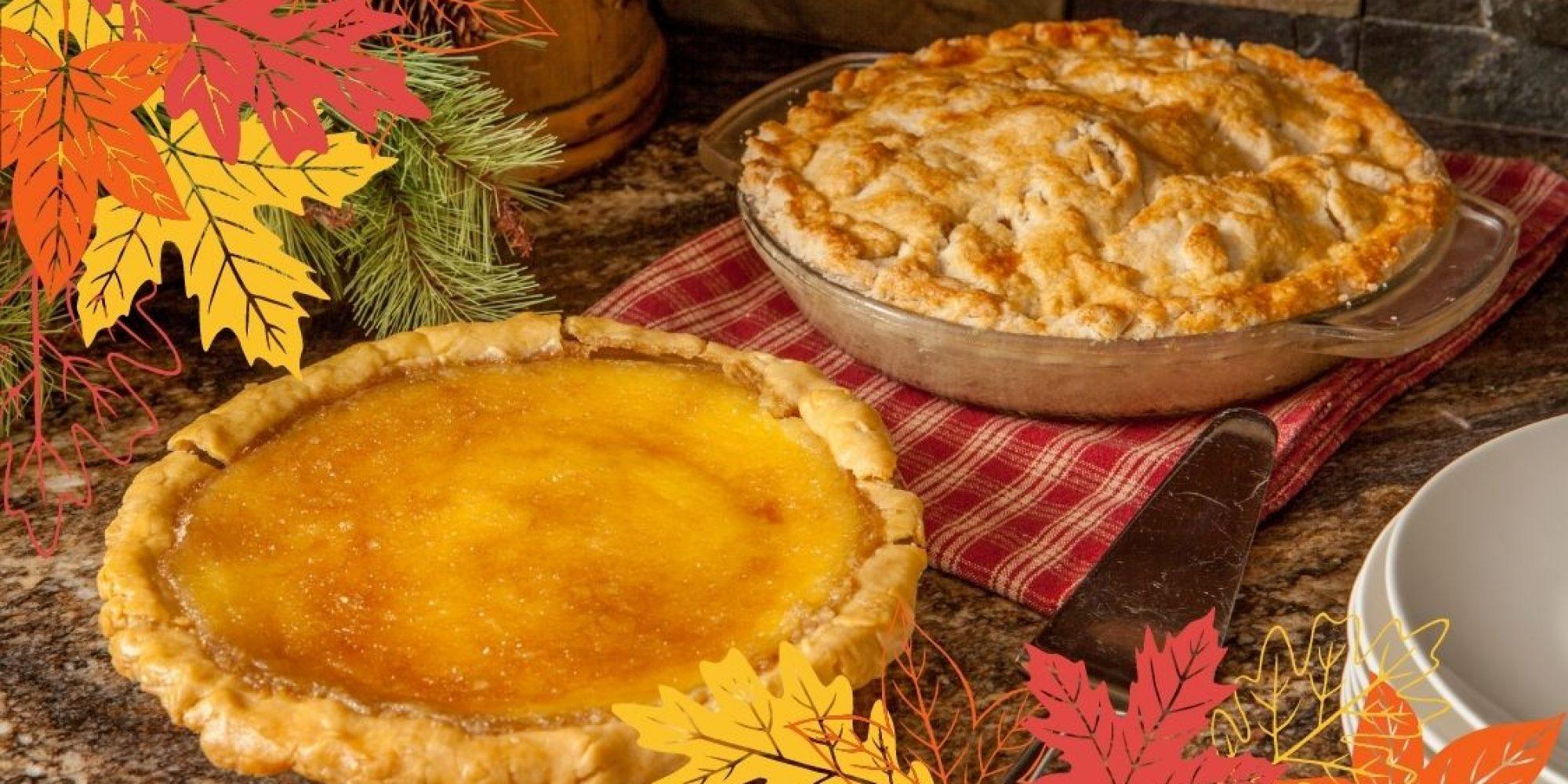 Caramel Apple Pie and custard pie easy recipes