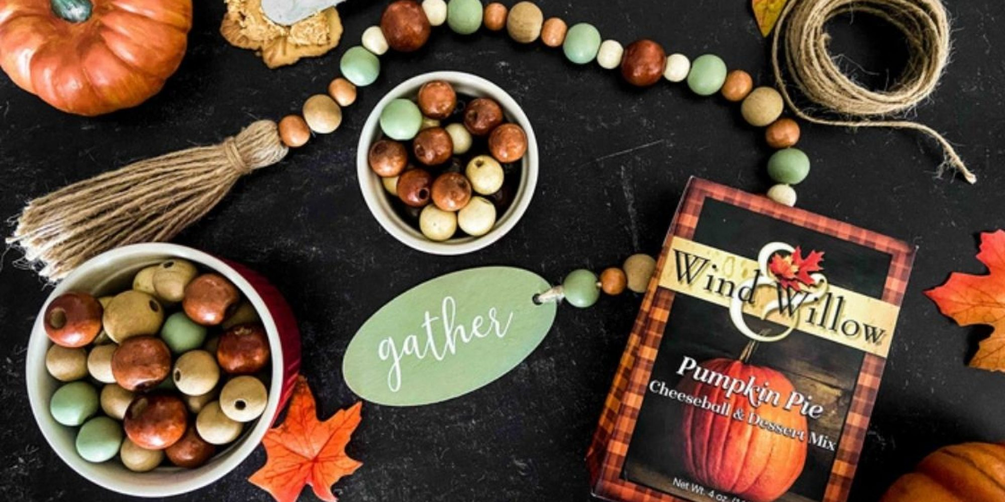 Fall girls night in craft with wind and willow